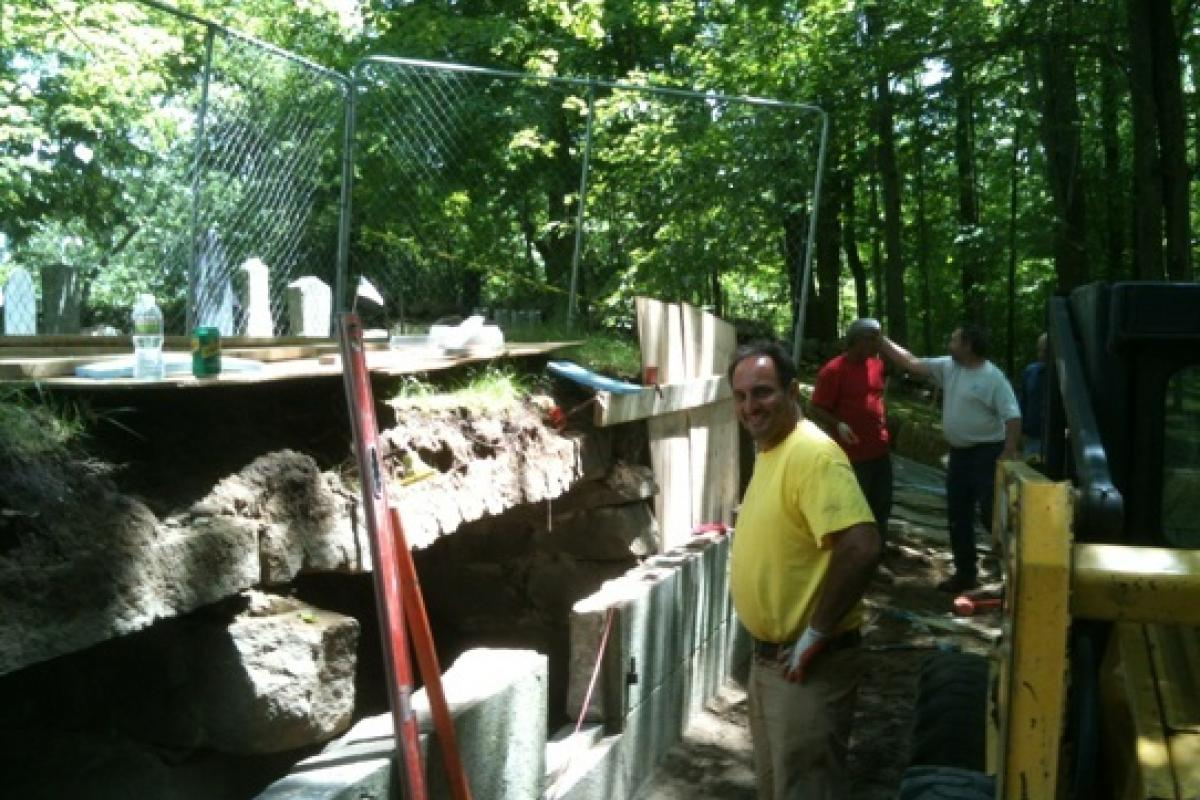 First Church Tomb Restoration Project
