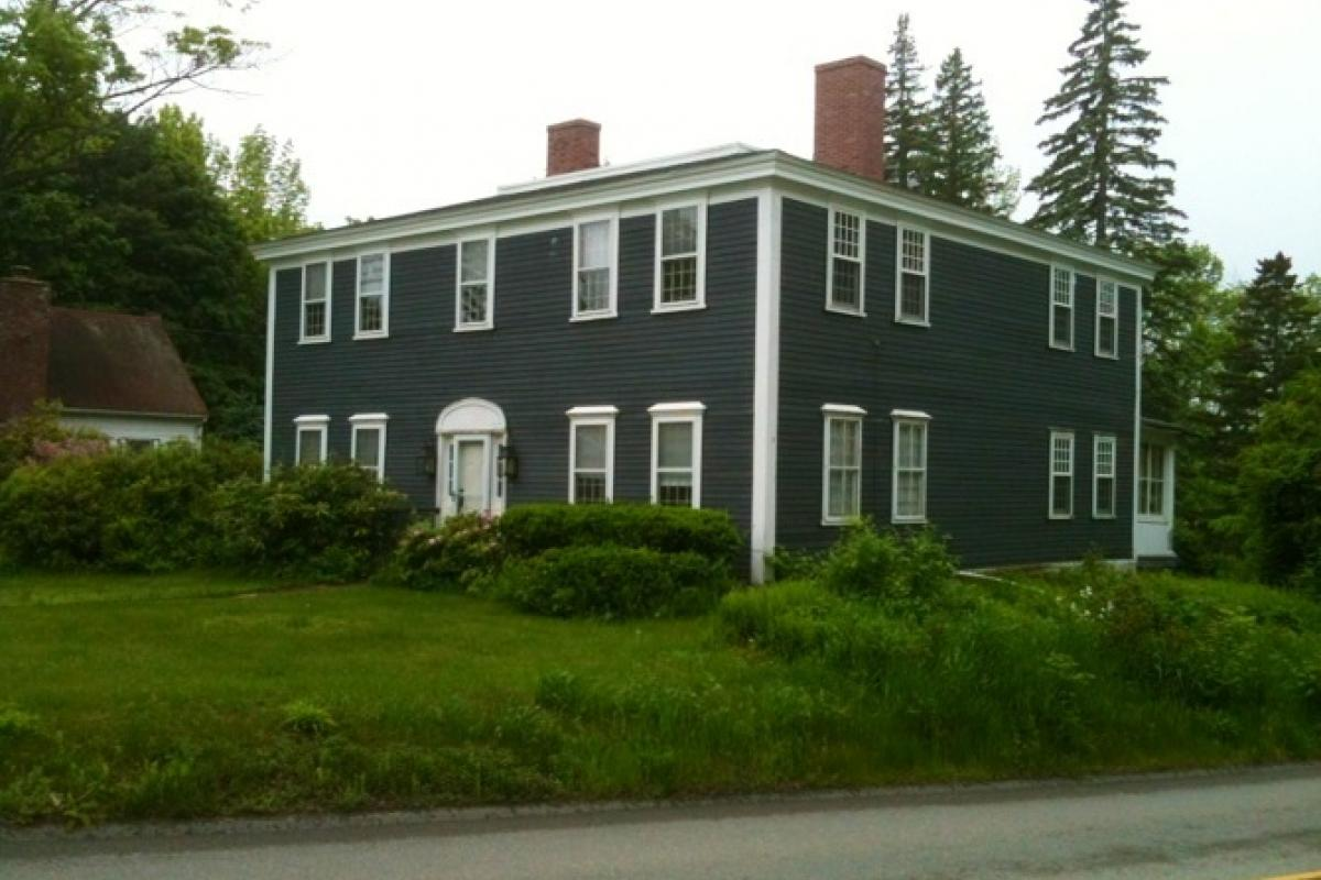 "Restoration of ""Widow's Walk"" on Wellington Rd. Historical home, after it was de"