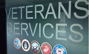 Veterans Services Sign